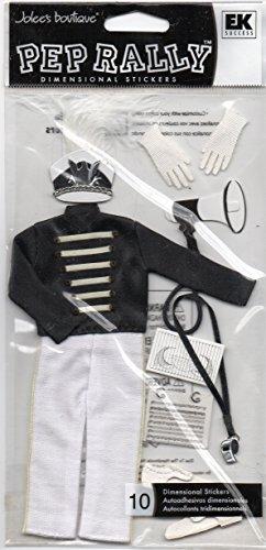 ufkleber von Jolee 's Boutique Marching Band in schwarz ()