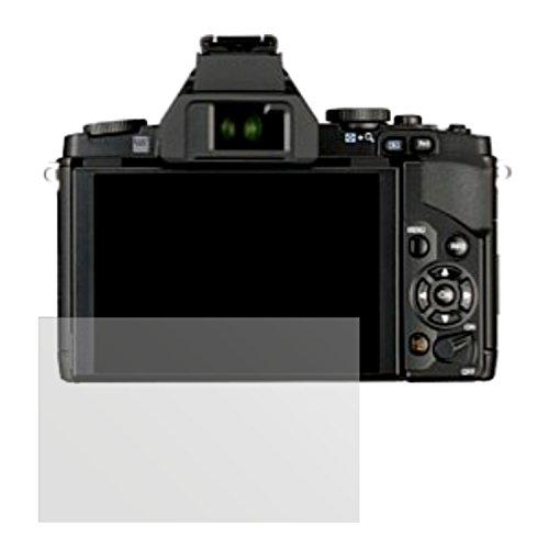 dipos I 6X Schutzfolie matt passend für Olympus OM-D E-M5 Folie Displayschutzfolie