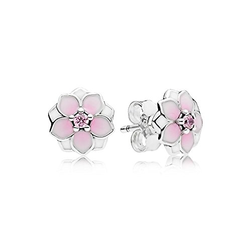 Pandora Women Silver Stud Earrings – 290739PCZ