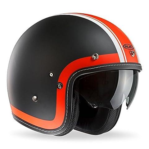 HJC FG-70s Erbe Motorrad Helm Offen - Weiß, Medium