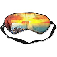 Ocean Sunset Sea Sky Sleep Eyes Masks - Comfortable Sleeping Mask Eye Cover For Travelling Night Noon Nap Mediation... preisvergleich bei billige-tabletten.eu