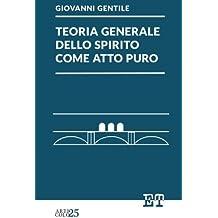 Teoria generale dello spirito come atto puro