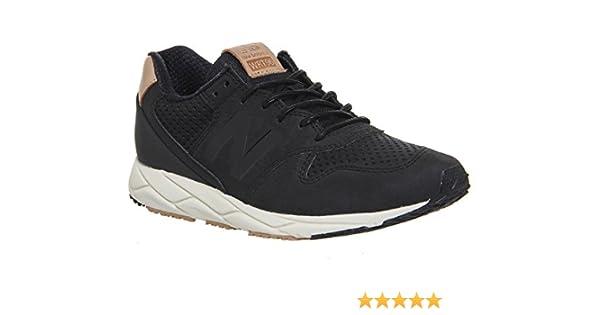 b5fb6187522b2b New Balance 96 Revlite Damen Sneaker Schwarz  Amazon.de  Schuhe    Handtaschen