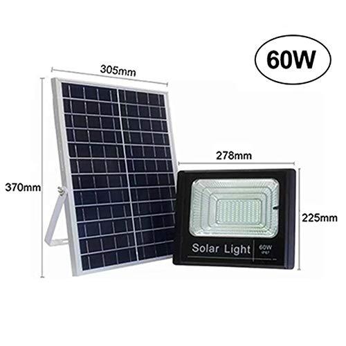 Natural Solarleuchten Outdoor, LED-Solarsicherheits-Licht Solarbewegungs-Sensor-Licht Solarleuchten wasserdichte Wandleuchten Mit 3 Modi,60W