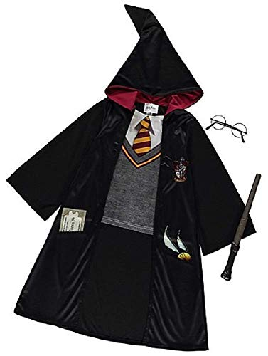 George Deluxe Halloween Kinder Harry Potter Kostüm Outfit Kostüm (11-12 Jahre) (Harry Potter Kind Kostüm Kit)