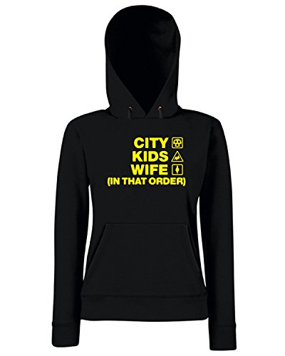 T-Shirtshock - Sweats a capuche Femme WC1163 hull-city-kids-wife-order-tshirt design Noir