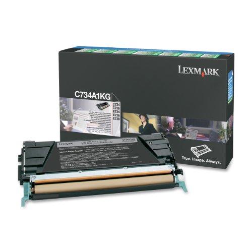 Preisvergleich Produktbild Lexmark Tonerkartusche für F C73X X73X Kapazität 8000 Seiten, schwarz