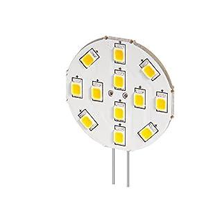 Alcasa LED Einbaustrahler Sockel G4, 2 W, 2800K, warmweiß