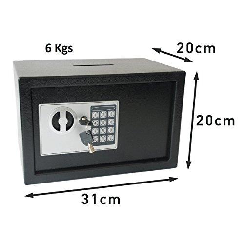 Caja Fuerte de Deposito Electrónica con Anti Bouncing System 6 Kgs