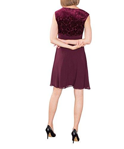 Esprit 106eo1e015, Robe Femme Rouge (bordeaux Red 600)