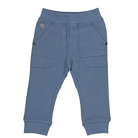 Bóboli Baby-Jungen Hose Fleece Trousers For Boy Blau (Cobalt 2390), 98