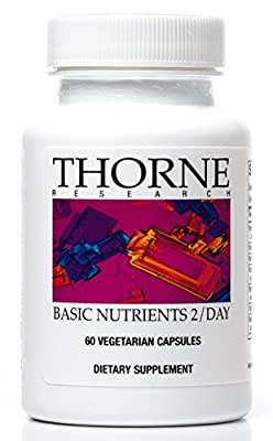 Thorne Research - Basic Nutrients 2 / Day - Complete Multivitamin / Mineral Formula - 60 Capsules from Thorne Research