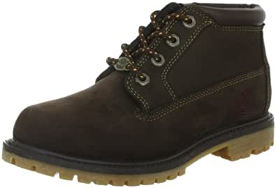 Timberland AF NELLIE DOUBLE DR BROWN 14693, Damen Fashion Halbstiefel & Stiefeletten, Braun (Dark Brown), EU 41 (US 9.5)