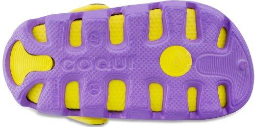 Coqui sabots pour enfant unisexe chaussures **orange, blanc, jaune, violet, vert, beige ** - Royal/Citrus