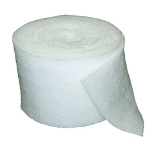 Rotolo filtro 25 metri bianco autoestinguente per cappe aspiranti
