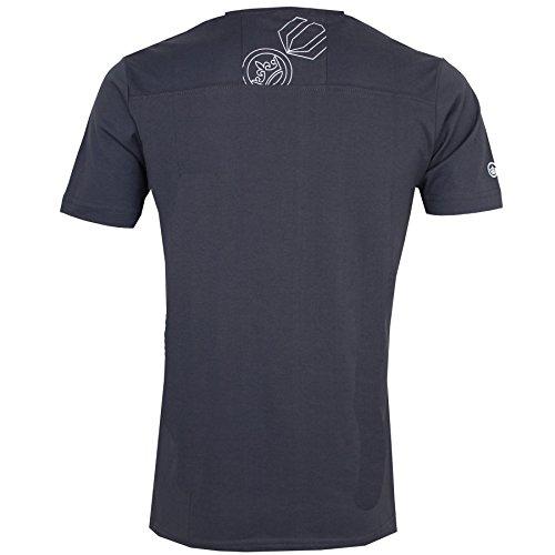 Herren Crosshatch Short Sleeve Crew Neck Summer Graphic T-Shirt 100% Baumwolle Top Periscope