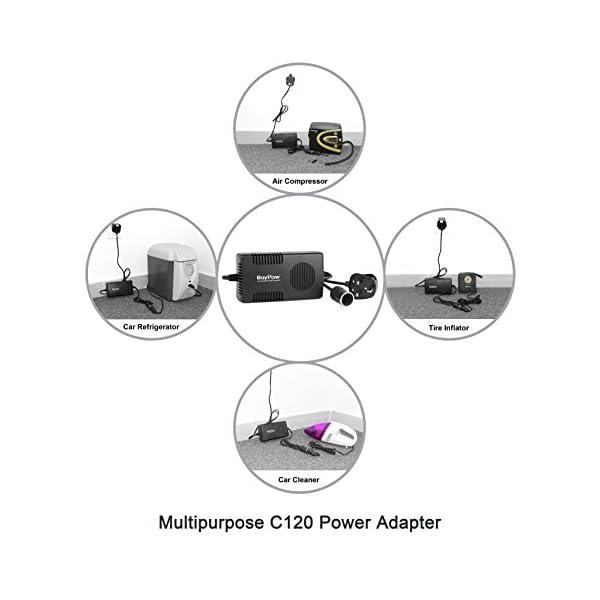 RoyPow Voltage Converter AC 240V to DC 12V 10A Power Adapter 120W (Max 150W) Car Cigarette Lighter Socket Transformer Mains 4