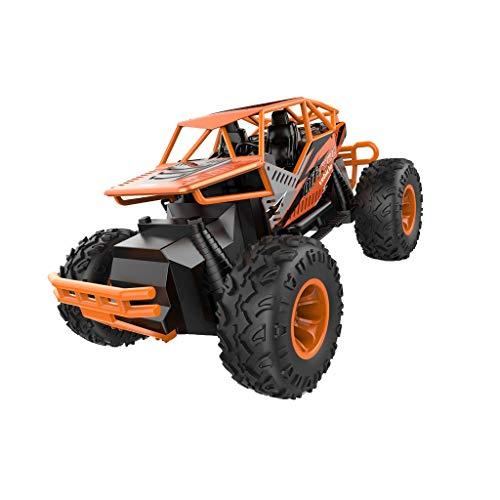 RC Car 1/16 Allrad-Geländewagen-Kletterauto,routinfly LH-C010 Kinder Erwachsene Jungen und Mädchen Spielzeuge Geschenk (Orange, 28 x 18 x 18 cm) - Mädchen, Monster-lkw-spielzeug