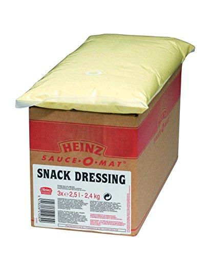 Heinz Snack Sauce, Beutelware für Dispenser, 1er Pack (1 x 7.5 l)
