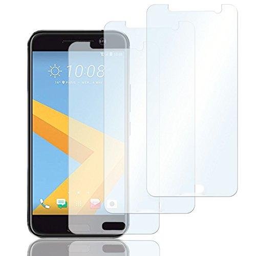 Eximmobile 3X Schutzfolien für HTC Desire 816 Folie | Bildschirmschutzfolie | Bildschirmfolie Schutzfolie | selbstklebend | transparent | blasenfrei | kein Glas | Flexible Folien