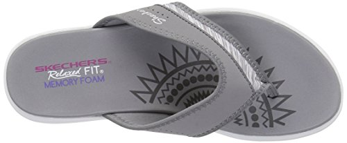 Skechers 40899 Upgrades Be Jeweled - Black Grey