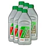 6x Trw Hydrauliköl Mineral Oil Hydraulic System Lhm Plus (mineral) 1 L Pfm201 Grün