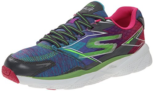 Skechers Go Run Ride 4 - Excess Mujer, Color: Multicolor, Talla: 40