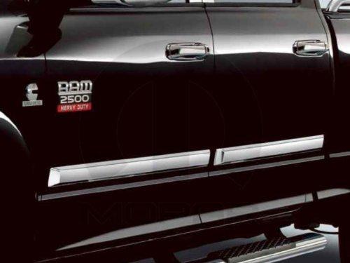 dodge-ram-1500-2500-3500-4500-5500-crew-mega-chrome-body-side-molding-oem-mopar-by-mopar