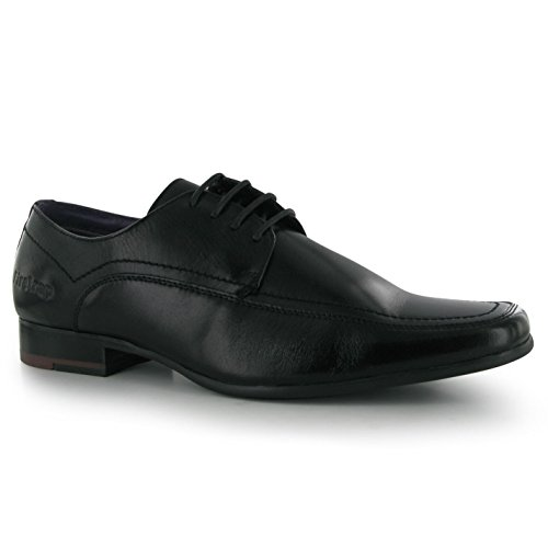 Firetrap Chaussures basses homme BOSTON cuir chaussures Business élégant schnuer Chaussures Noir - Noir