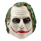 Halloween Batman Clown Maske Latex Kopfbedeckungen Dark Knight Film Requisiten,A-OneSize