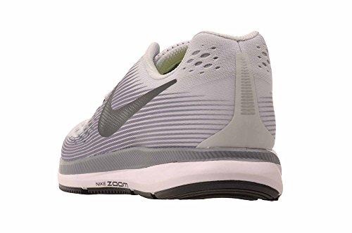 Nike Damen Wmns Air Zoom Pegasus 34 Laufschuhe Pure Platinum / Anthracite