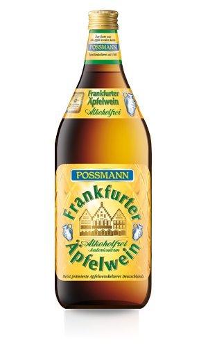 Possmann Frankfurter Äpfelwein alkoholfrei 1l