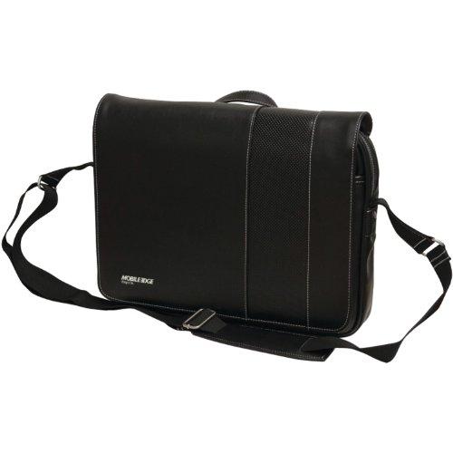 Herren-mobile Edge (Mobile Edge MEUTSMB5 Slimline Chromebook Messenger Bag 14 Zoll Herren Damen Business Reisen Studenten Schwarz)