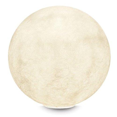 In-es.artdesign IN-ES060010 T Moon 1 Nebulite Lampada da Tavolo E14,  Bianco