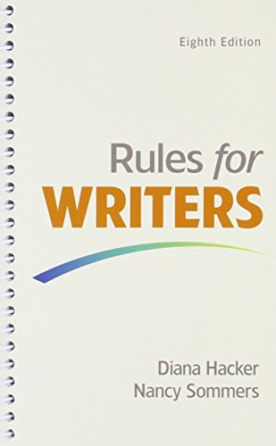 Rules for Writers & LaunchPad (Twelve Month Access) by Diana Hacker (2015-11-18) par Diana Hacker;Nancy Sommers