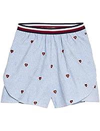 8b7bdf996e6 Tommy Hilfiger- Pantalon Corto KG0KG04264-123 Bright White- Pantalon Corto  NIÑA