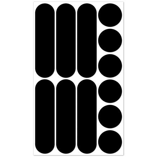 b-reflective-brbikeblack-autocollants-retro-reflechissants-kit-de-12