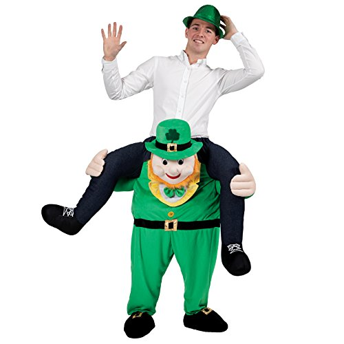 Carry Me Leprechaun - Adult Costume Adult - One - Carry Me Kostüm Leprechaun