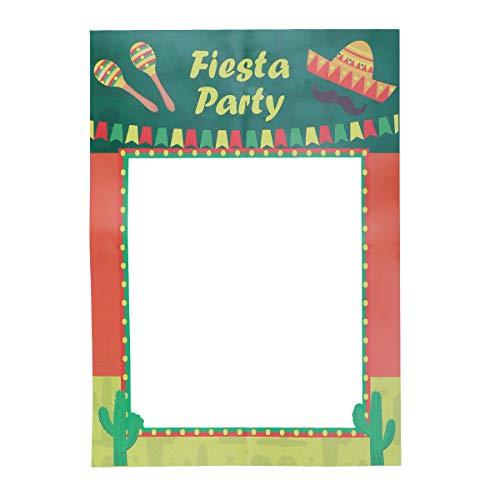 Photo Booth Requisiten Selfie Photo Frame mexikanischen Party Supplies Dekorationen ()