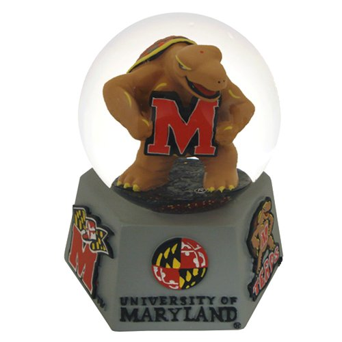 Sports Collector's Guild NCAA Maryland Terrapins Mascot Musical Snow Globe
