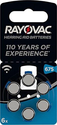 Vatra Hörgerätebatterie (6er Pack) -