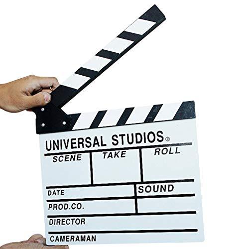Pandiki Holz Film Video Regie-Schindel-Film Schnitt Action-Szene Slateboard Clapper Board Schwarz Weiß