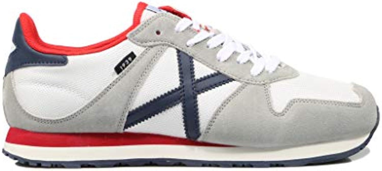 Munich, Massana 327 327 327 scarpe da ginnastica Bianche e Grigie per Uomo   Varietà Grande  d7dca6