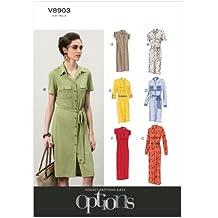 Vogue V8903 - Patrón de Costura para Vestido de Mujer