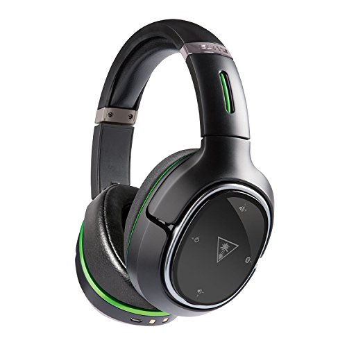 Turtle Beach - Ear Force Elite 800X Premium Fully Wireless Gaming Headset - DTS Headphone:X 7.1 Surround Sound - Noise Cancellation- Xbox One, Mobile Devices - Elite Gaming-headset