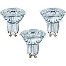 Osram 818392 Bombilla LED GU10, 4.3 W, Blanco, 3 Unidades