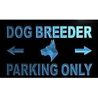 Insegna al neon m279-b Dog Breeder Parking Only Neon Light Sign