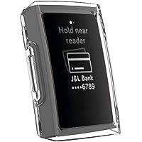 Cooljun pour Fitbit Charge 3,Housse de Protection en TPU Transparent Ultra-Mince