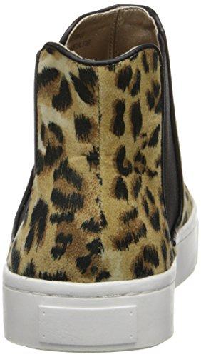 Luichiny Virtual Star Faux Wildleder Sportliche Turnschuh Leopard