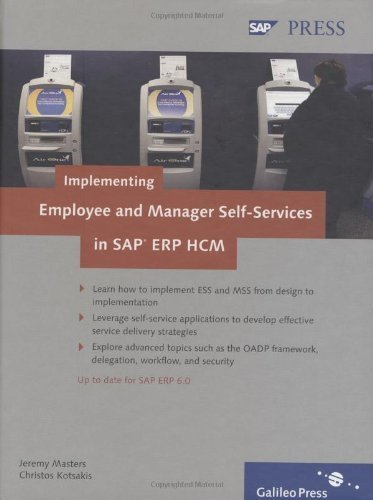 Implementing Employee and Manager Self-Services in SAP ERP HCM by Jeremy Masters (2008-10-28)